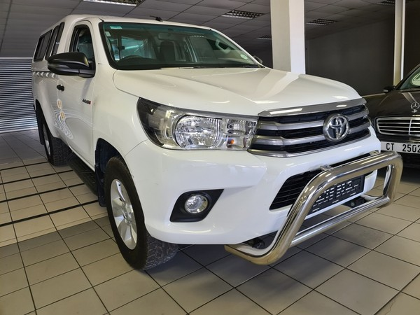 2017 Toyota Hilux 2.4 GD-6 RB SRX Single Cab Bakkie Western Cape Worcester_0