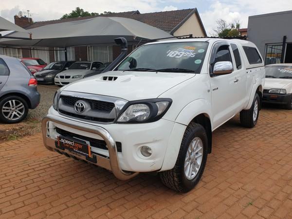 2011 Toyota Hilux 3.0d-4d Raider Xtra Cab Pu Sc  Gauteng Boksburg_0