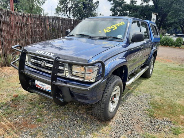 1999 Toyota Hilux 2700i Raider 4x4 Pu Dc  North West Province Rustenburg_0