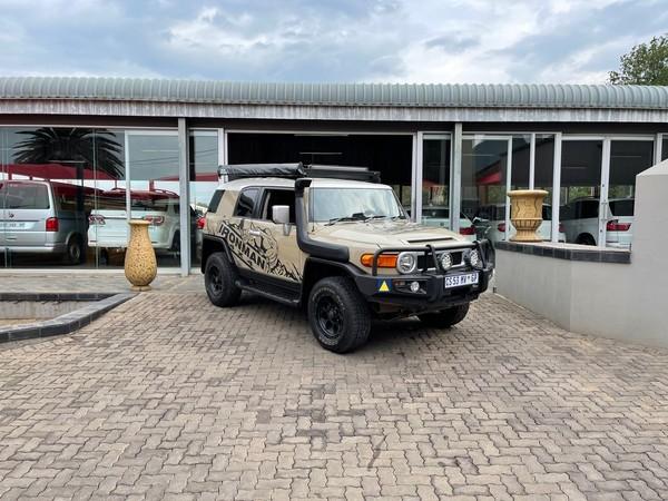 2013 Toyota Land Cruiser Fj 4.0 V6 Sport Cruiser  Mpumalanga Delmas_0