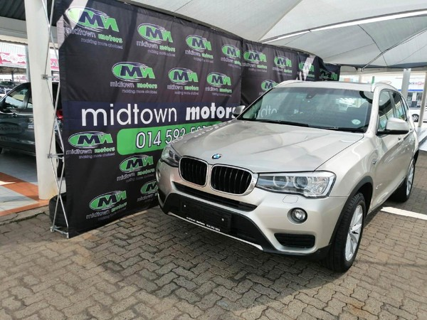 2014 BMW X3 xDRIVE20d Auto North West Province Rustenburg_0