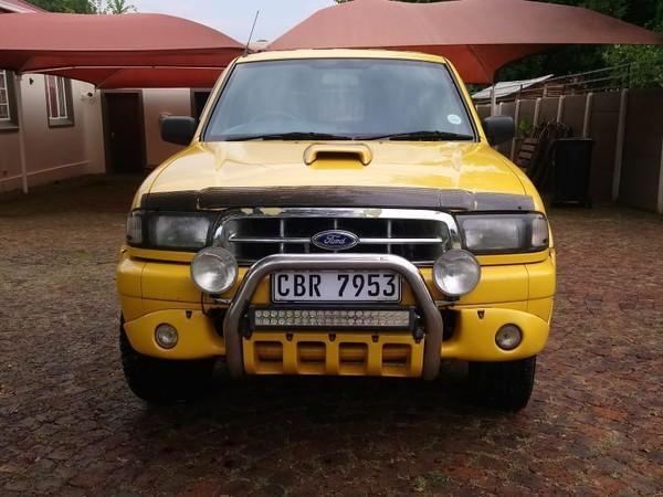 2003 Ford Ranger 2500td Montana Xlt Pu Dc  Gauteng Boksburg_0