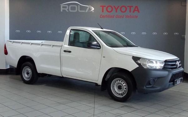 2021 Toyota Hilux 2.4 GD S Single Cab Bakkie Western Cape Somerset West_0