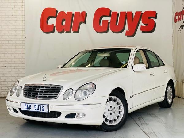2003 Mercedes-Benz E-Class E 270 Cdi  Gauteng Pretoria_0