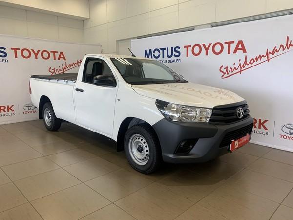 2021 Toyota Hilux 2.4 GD AC Single Cab Bakkie Gauteng Randburg_0