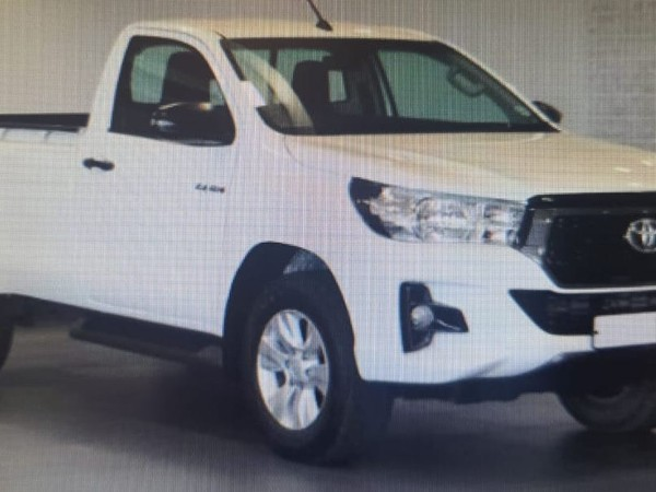 2019 Toyota Hilux 2.4 GD AC Single Cab Bakkie Gauteng Pretoria_0