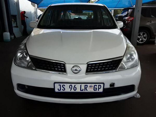 2007 Nissan Tiida 1.6 Visia  AT Sedan Gauteng Johannesburg_0