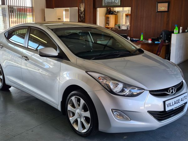 2012 Hyundai Elantra 1.8 Gls At  Western Cape Kuils River_0