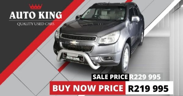 2013 Chevrolet Trailblazer 2.8 Ltz 4x4  Western Cape Cape Town_0