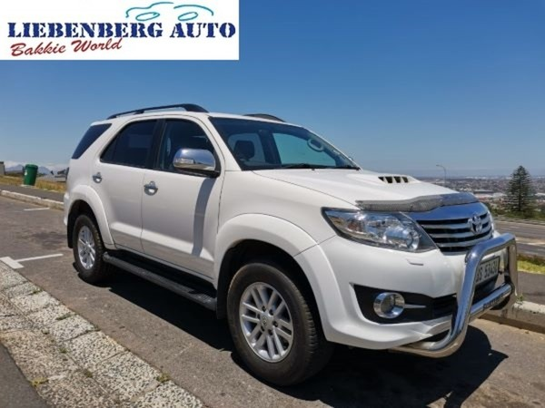 2015 Toyota Fortuner 3.0d-4d Rb  Western Cape Cape Town_0