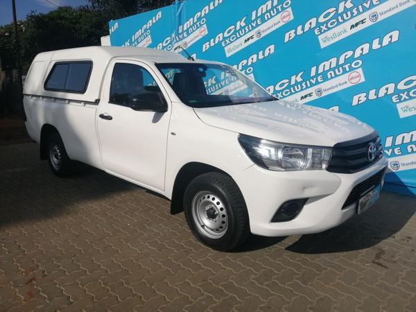 2016 Toyota Hilux 2.4 GD AC Single Cab Bakkie Gauteng Pretoria North_0