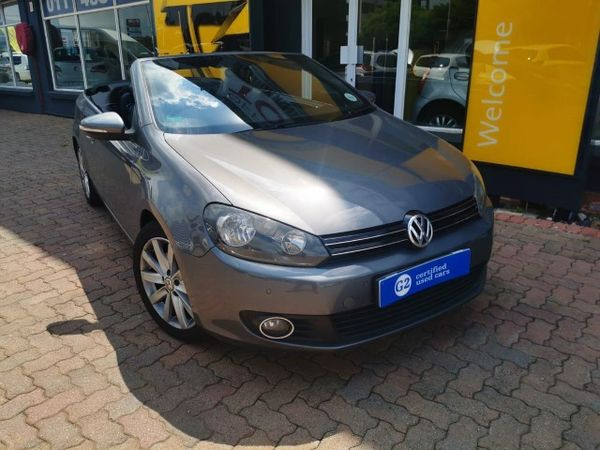 2012 Volkswagen Golf Vi 1.4 Tsi Dsg Cabrio 118kw Hline  Gauteng Randburg_0