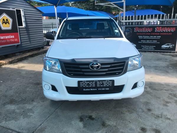 2014 Toyota Hilux 2.5 D-4d Srx Rb Pu Sc  North West Province Hartbeespoort_0