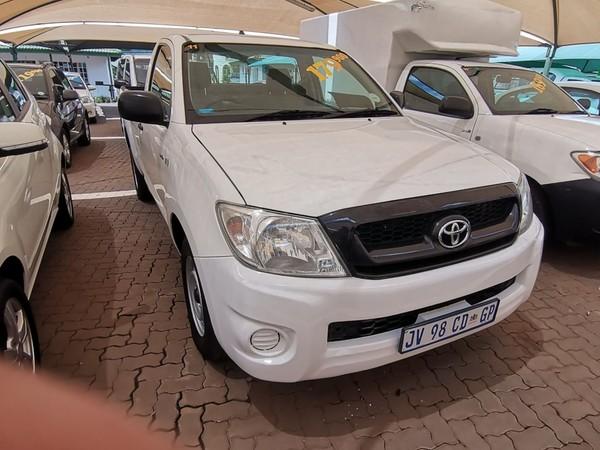 2011 Toyota Hilux 2.5 D-4d Pu Sc  Gauteng Pretoria_0