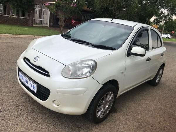 2011 Nissan Micra 1.2 Visia 5dr d82  Gauteng Boksburg_0