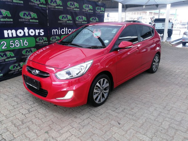 2017 Hyundai Accent 1.6 Fluid 5 - Door  Manual Petrol North West Province Rustenburg_0