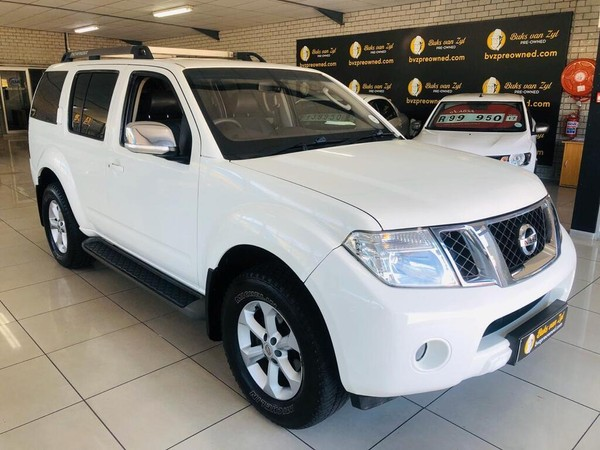 2012 Nissan Pathfinder 2.5 Dci At l1013  Western Cape Paarl_0