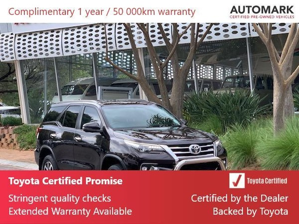 2019 Toyota Fortuner 2.8GD-6 4X4 Gauteng North Riding_0