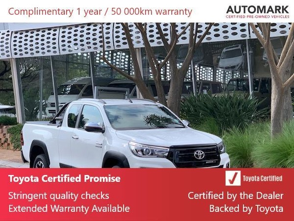 2019 Toyota Hilux 2.8 GD-6 RB Raider Auto PU ECAB Gauteng North Riding_0