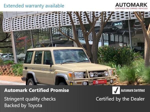 2009 Toyota Land Cruiser 70 4.2d Sw  Gauteng North Riding_0