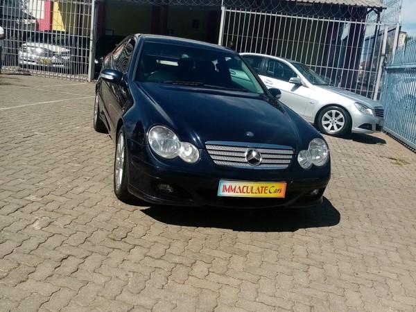 2004 Mercedes-Benz C-Class C 230k Coupe At  Gauteng Benoni_0