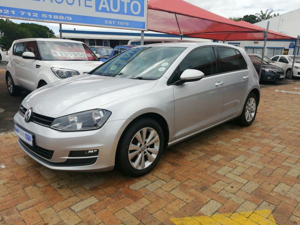 2014 Volkswagen Golf Vii 1.4 Tsi Comfortline  Western Cape Cape Town_0