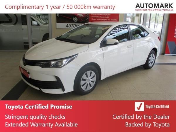 2020 Toyota Corolla Quest 1.8 Western Cape Cape Town_0