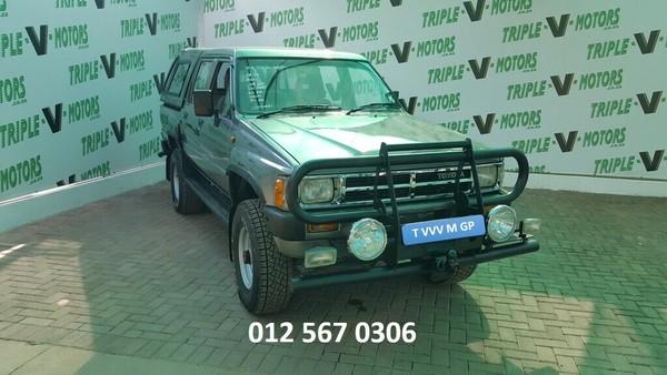 1987 Toyota Hilux 2200 4x4 Pu Dc  Gauteng Pretoria_0