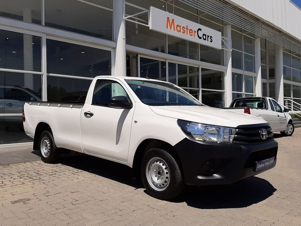 2019 Toyota Hilux 2.4 GD AC Single Cab Bakkie Gauteng Midrand_0