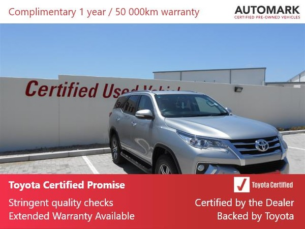 2017 Toyota Fortuner 2.4GD-6 RB Auto Eastern Cape Port Elizabeth_0