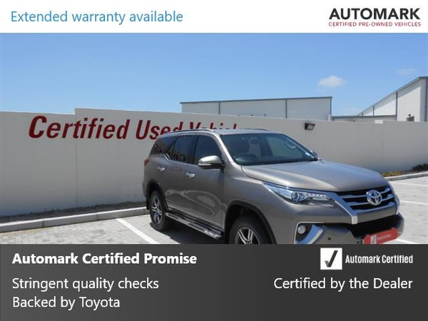 2016 Toyota Fortuner 2.8GD-6 RB Auto Eastern Cape Port Elizabeth_0