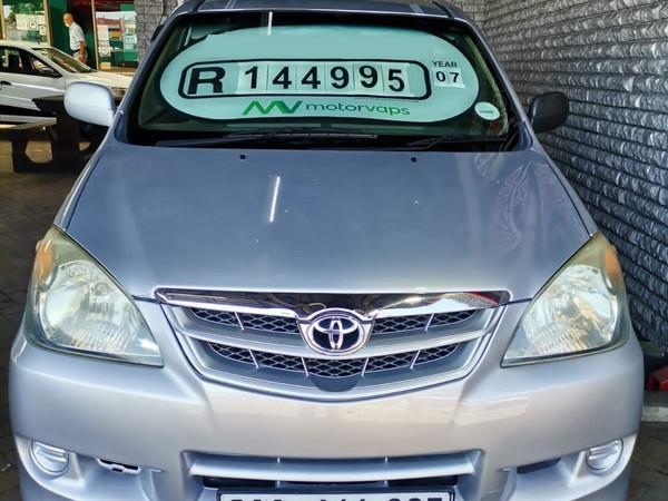 2007 Toyota Avanza 1.5 Sx  Western Cape Goodwood_0