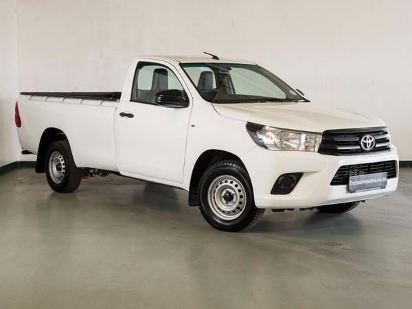 2016 Toyota Hilux 2.4 GD Single Cab Bakkie Gauteng Pretoria_0