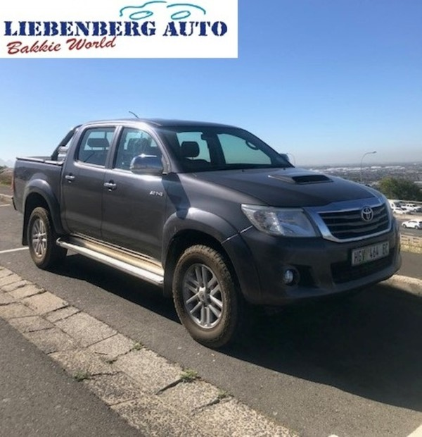 2014 Toyota Hilux 3.0d-4d Raider Rb At Pu Dc  Western Cape Cape Town_0
