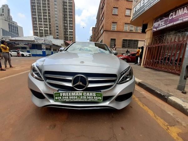 2017 Mercedes-Benz C-Class C180 AMG Line Gauteng Johannesburg_0