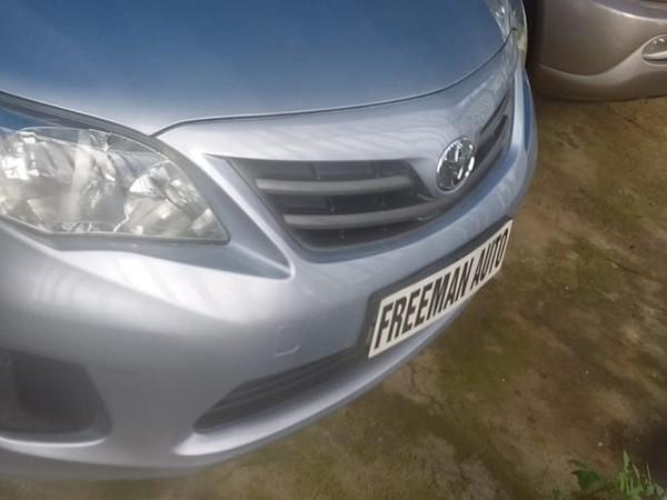 2011 Toyota Corolla 1.6 Professional  Gauteng Bramley_0