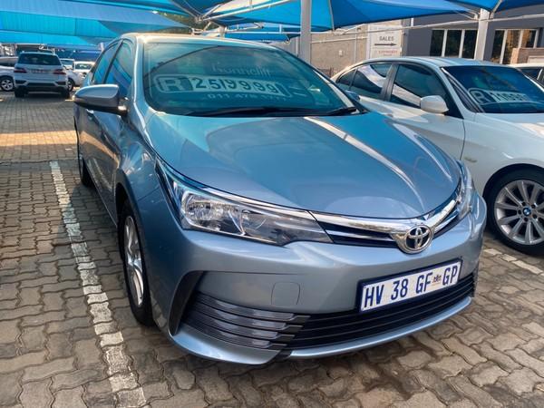 2018 Toyota Corolla 1.6 Prestige Gauteng Pretoria_0