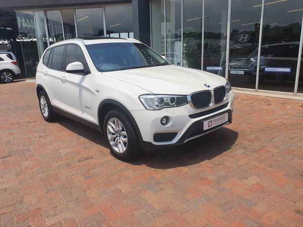 2017 BMW X3 xDRIVE20d Auto Gauteng Johannesburg_0