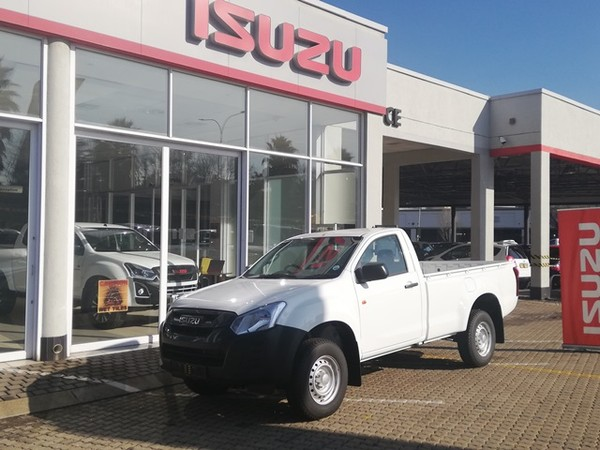2021 Isuzu D-MAX 250 HO Fleetside Safety Single Cab Bakkie Gauteng Alberton_0