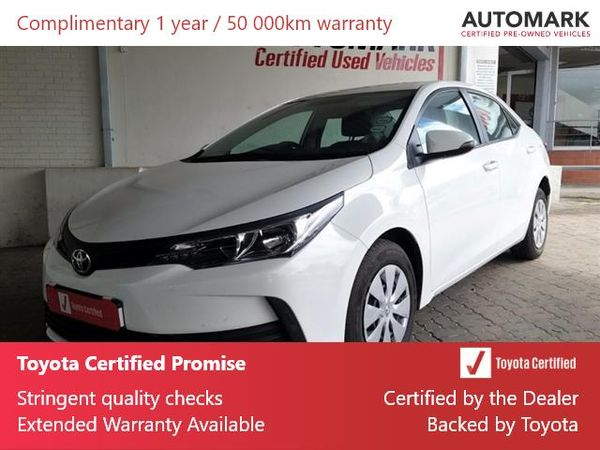 2020 Toyota Corolla Quest 1.8 Eastern Cape King Williams Town_0