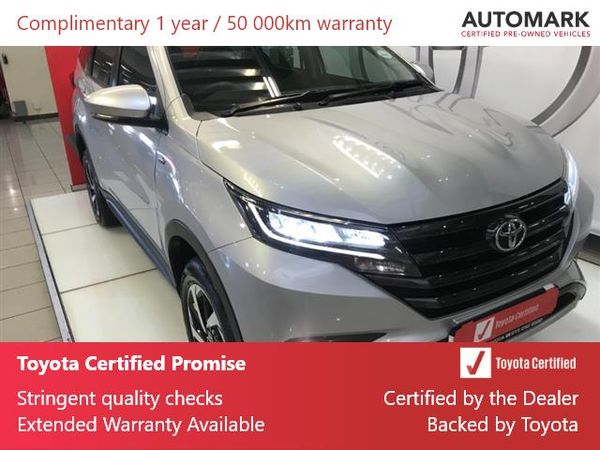 2020 Toyota Rush 1.5 Auto Gauteng Johannesburg_0