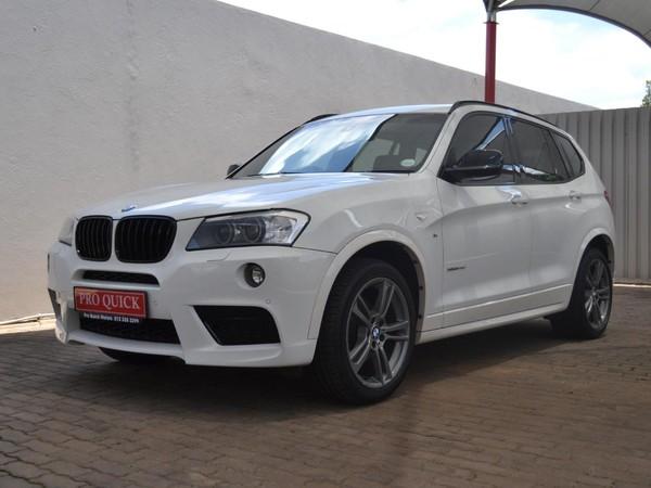 2013 BMW X3 Xdrive 3.0d M-sport At  Gauteng Pretoria_0