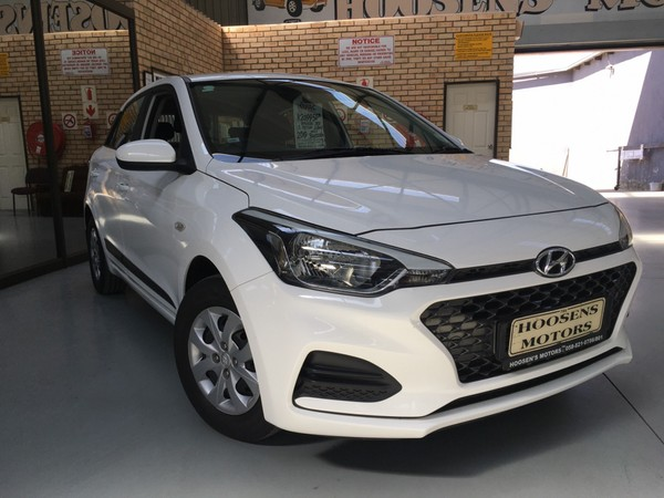 2019 Hyundai i20 1.2 Motion 5spd manual with navigation  Free State Villiers_0