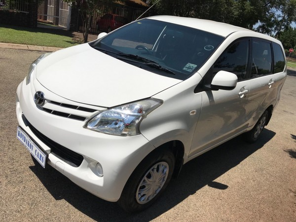 2013 Toyota Avanza 1.5 Sx At  Gauteng Boksburg_0