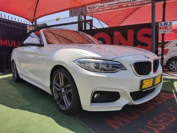 2016 BMW 2 Series 220i Convertible M Sport Auto F23 Gauteng Boksburg_0