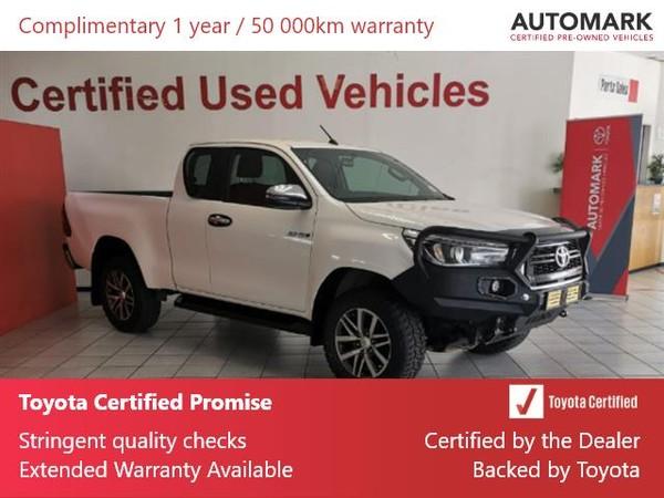 2019 Toyota Hilux 2.8 GD-6 RB Raider 4X4 Auto PU ECAB Gauteng Springs_0