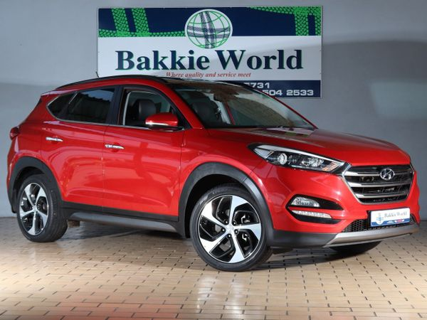 2016 Hyundai Tucson 1.6 TGDI Elite DCT North West Province Klerksdorp_0