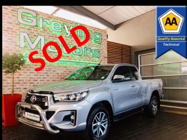 2019 Toyota Hilux 2.8 GD-6 RB Raider PU ECAB Gauteng Pretoria_0
