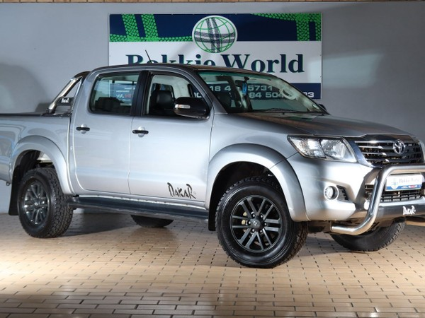 2015 Toyota Hilux 2.7 VVTi LEGEND 45 RB Double Cab Bakkie North West Province Klerksdorp_0