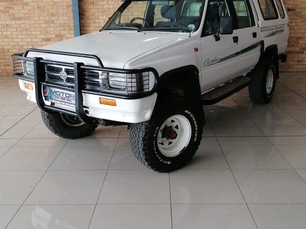 1997 Toyota Hilux 2.8 4x4 Pu Dc  North West Province Orkney_0